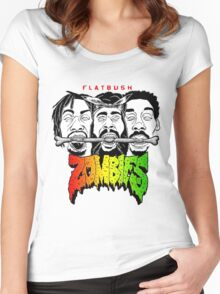 Flatbush Zombies Women's Fitted Scoop T-Shirt