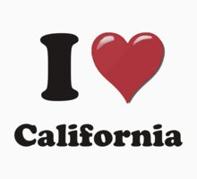I Love California by ColaBoy