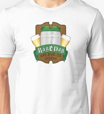 RageDay crest Unisex T-Shirt
