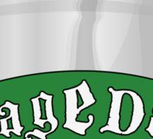 RageDay Sticker