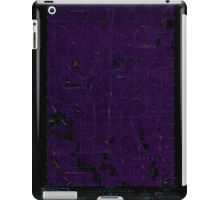 Maine USGS Historical Map Picard Brook 102878 1986 24000 Inversion iPad Case/Skin