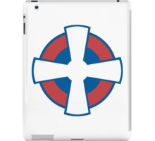 Roundel of the Serbian Air Force iPad Case/Skin