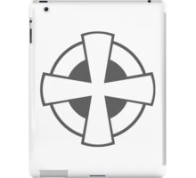Roundel of the Serbian Air Force (low visibility) iPad Case/Skin