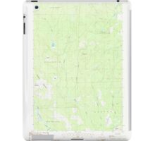 Maine USGS Historical Map Picard Brook 102878 1986 24000 iPad Case/Skin