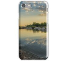 Sunset Over the Llano River iPhone Case/Skin