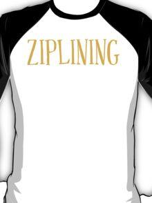 New Sexy Ziplining T-shirt T-Shirt