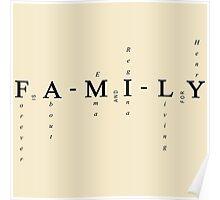 Swan Mills Family -  Poster