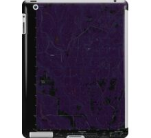 Maine USGS Historical Map Picard Brook 20110831 TM Inversion iPad Case/Skin