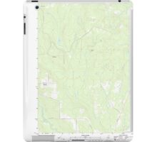 Maine USGS Historical Map Picard Brook 20110831 TM iPad Case/Skin