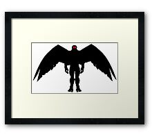 THE MOTH MAN Framed Print