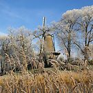 Frosty morning windmill by MooseMan