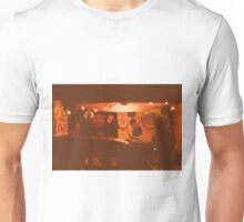 Garage in sepia Unisex T-Shirt