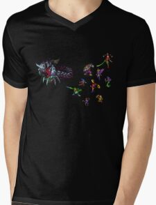 Breath of fire battle Mens V-Neck T-Shirt