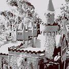 Fairy castle turret by evapod