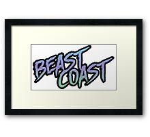 Beast Coast Framed Print