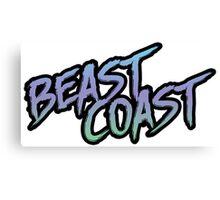 Beast Coast Canvas Print