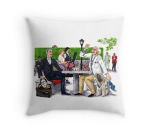 Checkmate - Doctor Who Throw Pillow