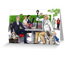 Checkmate - Doctor Who Greeting Card