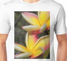 Yellow plumeria #3, Big Island, Hawai'i Unisex T-Shirt