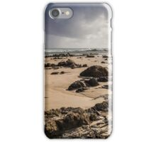 Stormy Sky at Sandy Beach iPhone Case/Skin