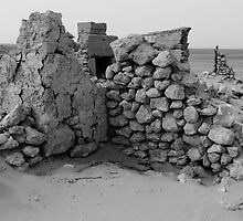 Mulka Ruins - Birdsville Track - South Australia by Jeff Catford