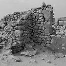 Mulka Ruins - Birdsville Track - South Australia by Jeff Catford