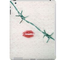 dangerous kiss iPad Case/Skin