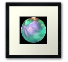 Mystical sphere Framed Print