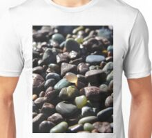 Polished Agate, Fort Cronkite, Marin County, Ca Unisex T-Shirt