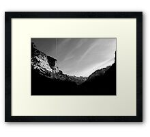 Contrail Framed Print