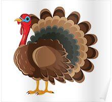 Cartoon Turkey 2 Character Poster