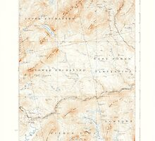 Maine USGS Historical Map Pierce Pond 460744 1927 62500 by wetdryvac