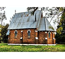 Old Church at Forrest Reefs  Nikon D40  HDR Photographic Print