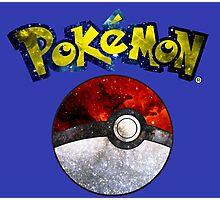 Pokemon Pokeball Galaxy Photographic Print
