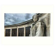 Southsea War Memorial Art Print