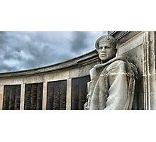 Southsea War Memorial Photographic Print