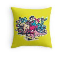 Super Smash League Throw Pillow