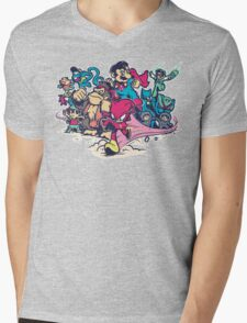 Super Smash League Mens V-Neck T-Shirt
