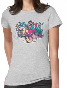 Super Smash League Womens Fitted T-Shirt