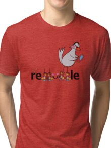 redbubble bird Tri-blend T-Shirt