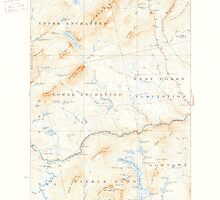 Maine USGS Historical Map Pierce Pond 460747 1927 62500 by wetdryvac