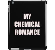 MY CHEMICAL ROMANCE RED iPad Case/Skin