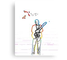 David Gilmour The Wireman Canvas Print