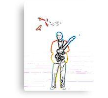David Gilmour The Wireman Canvas Print