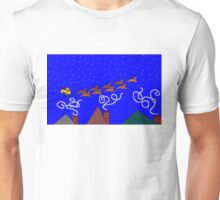 Santa and His 9 Tiny Reindeer Unisex T-Shirt