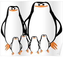 Penguin Family  Poster