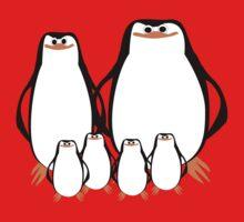 Penguin Family  One Piece - Long Sleeve