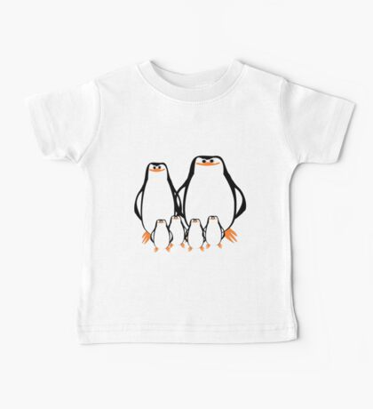 Penguin Family  Baby Tee