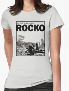 ROCKO Womens Fitted T-Shirt