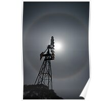 Moon Ring Mill Poster